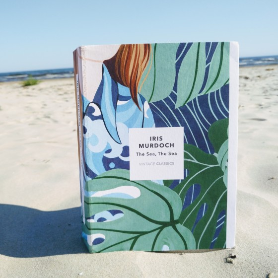 """Special edition of """"The Sea, The Sea"""" published by Vintage Books in the summer of 2019 to celebrate the 100th birthday of Iris Murdoch. Photo: Beach Books."""