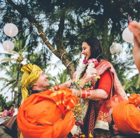 Wedding in Goa, India, 2017. Photo: David Boynton