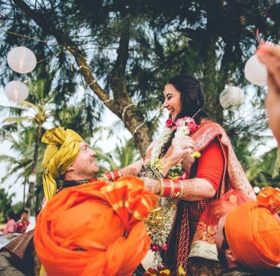 Wedding in Goa, India, 2017. Photo: David Boynton