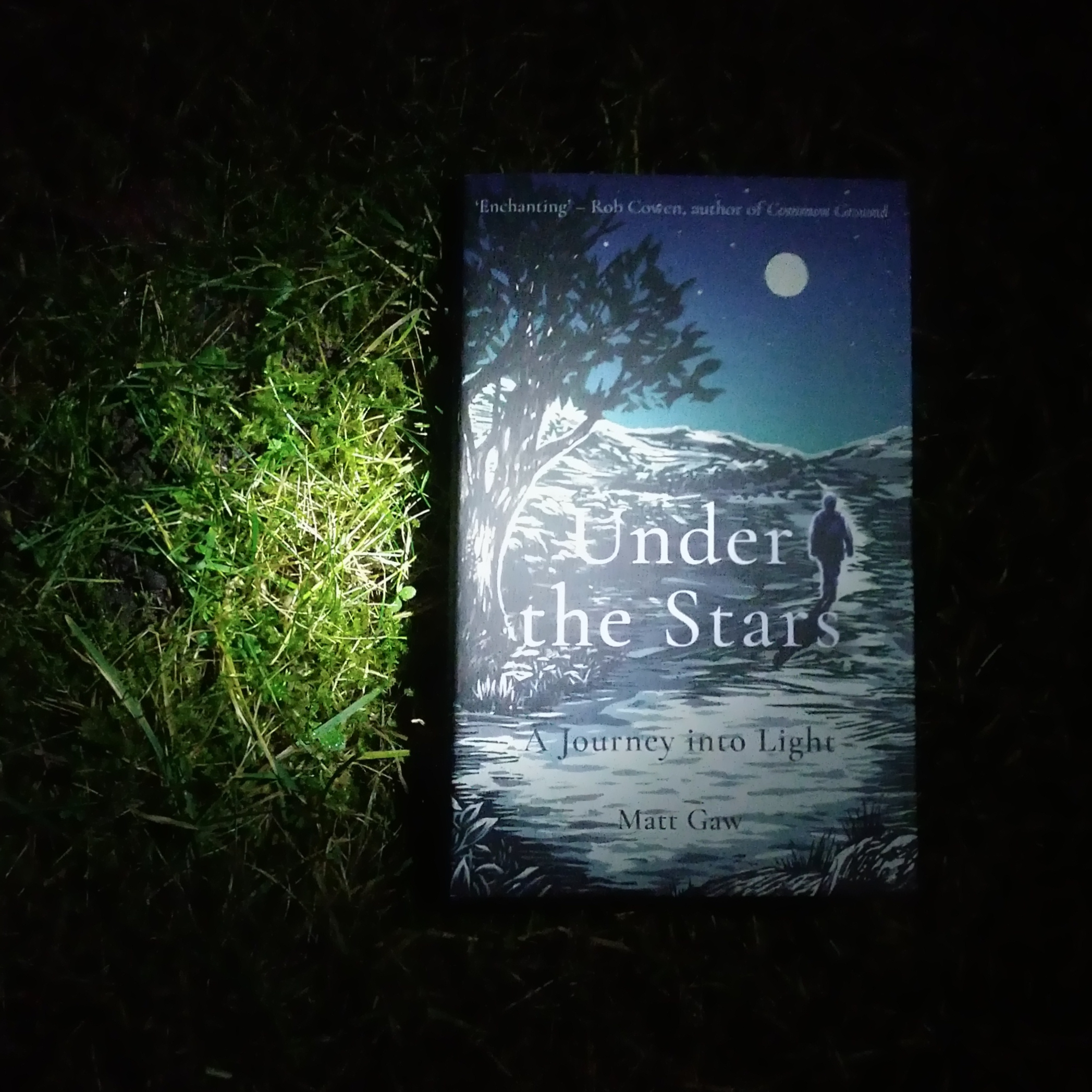 """""""Under the Stars: A Journey into Light"""" by Matt Gaw is published on February 20, 2020. Photo by Beach Books."""