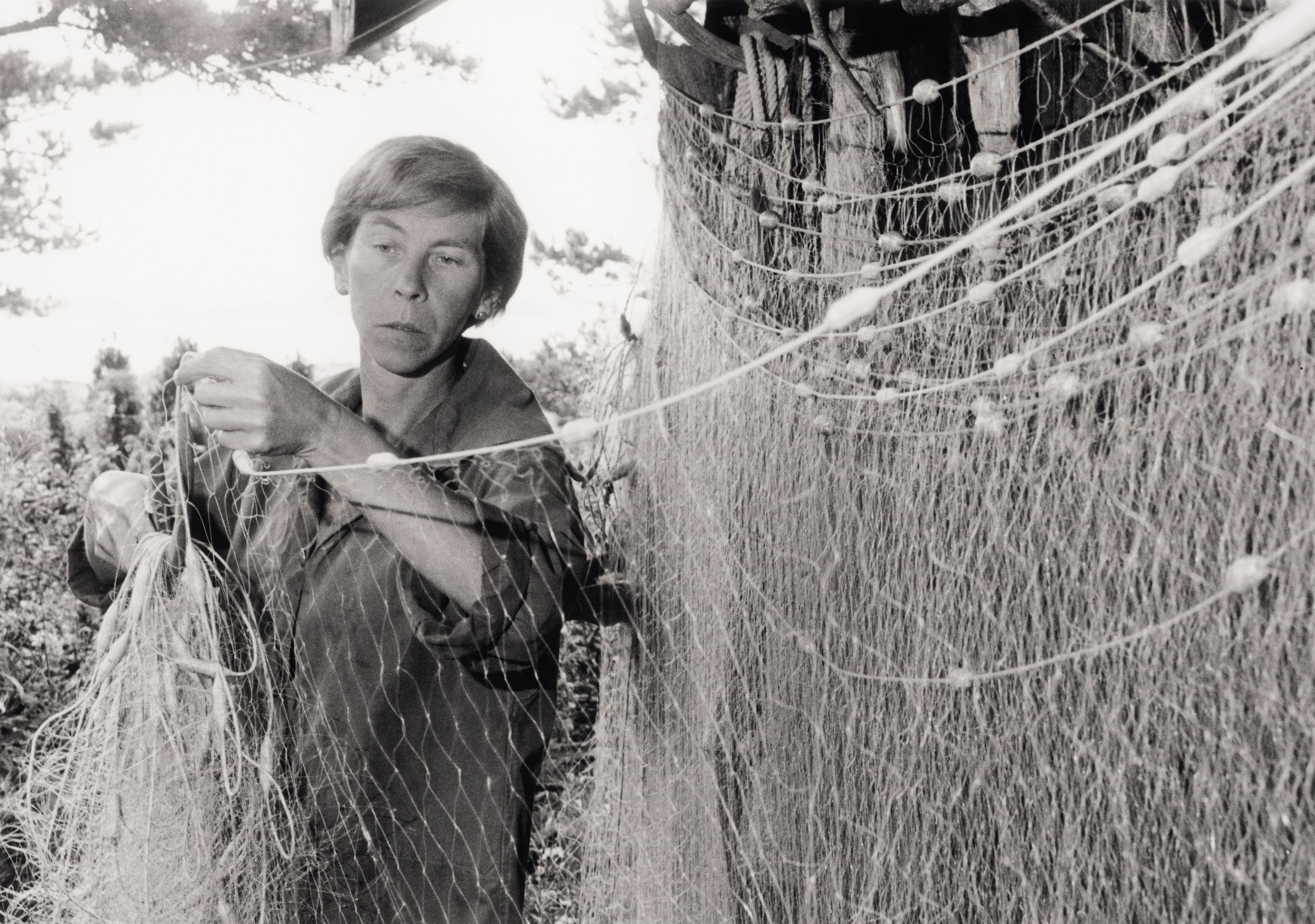 Tove Jansson by the Baltic Sea © Per Olov Jansson