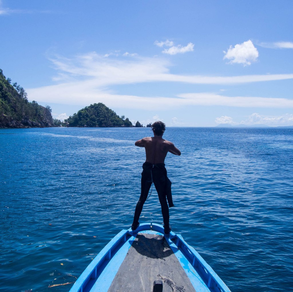 Otny Thomas, Bangka Island, Indonesia. Photo: Julian Hoffman.