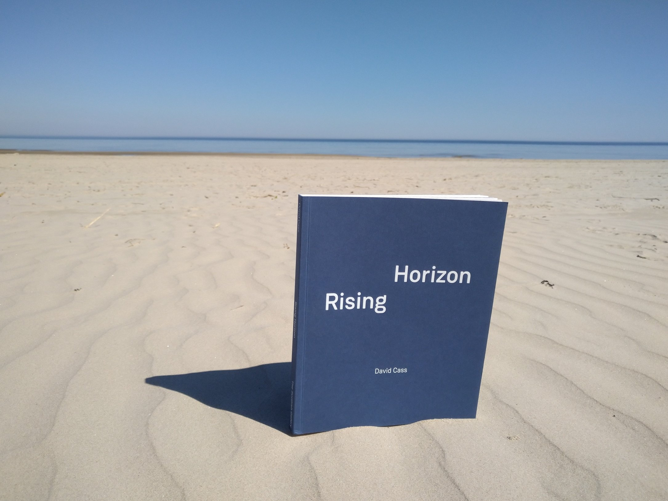 """Rising Horizon"" by David Cass. Photo by Beach Books"